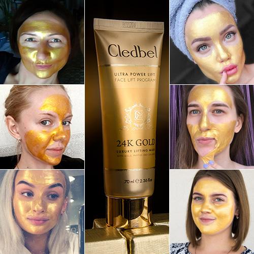 Cledbel 24K Gold — маска-пленка с лифтинг эффектом