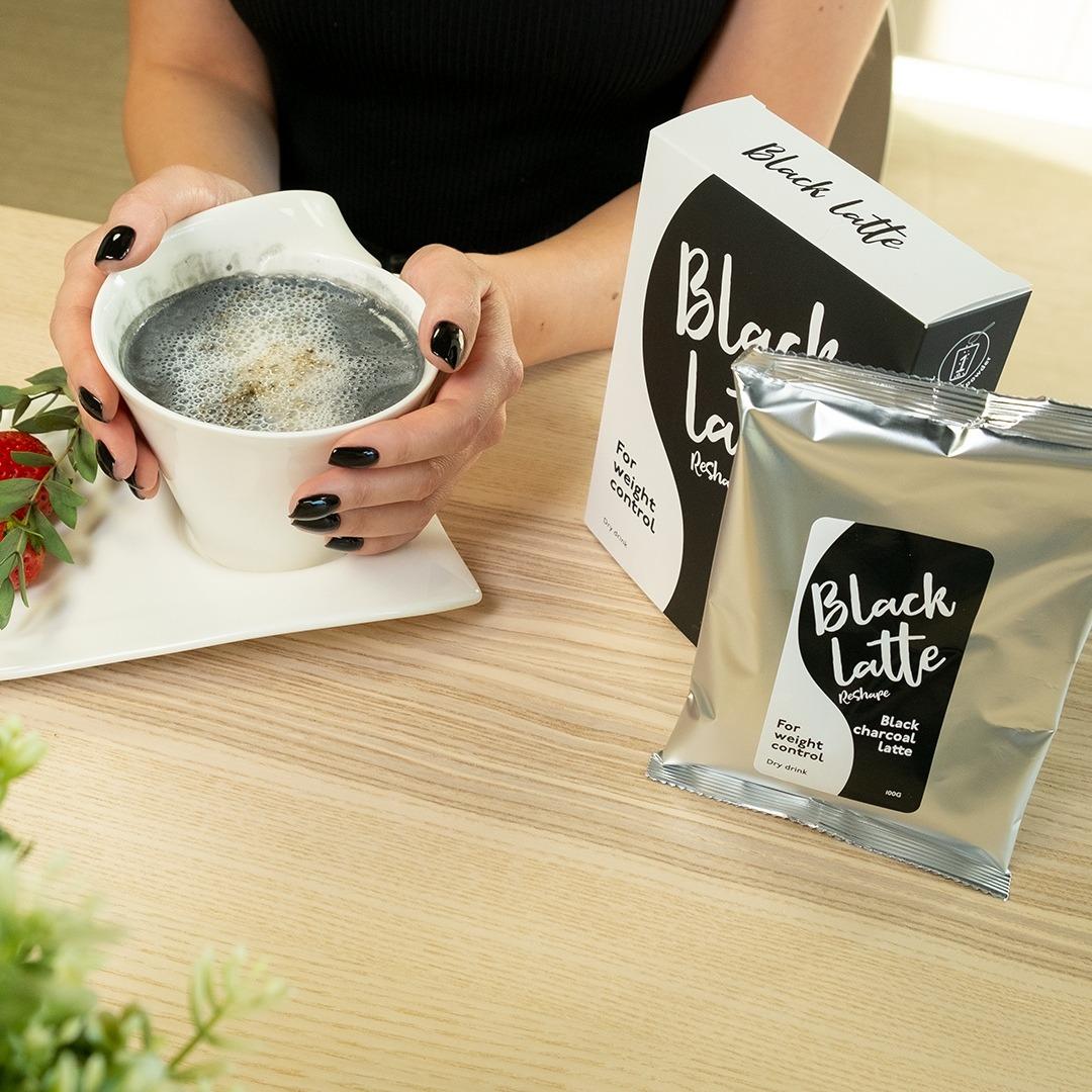 BLACK LATTE — напиток для похудения
