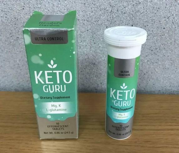 Keto Guru - шипучие таблетки для похудения
