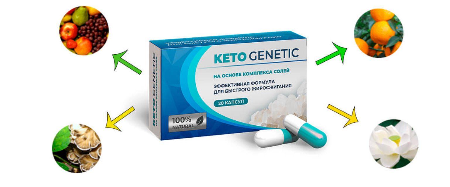 Keto Genetic — капсулы для похудения